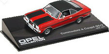 CL01 Opel Commodore A Coupe GS/E 1970 1/43 Scale Red/Black New in Display Case