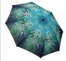 Galleria New Hummingbird Windproof Automatic Open Close Folding Umbrella Brolly