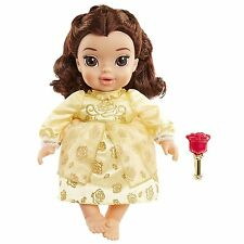 Baby Belle Doll Disney Girls Toy Play Beauty and the Beast Rattle Kids Pretend