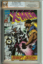 Signed  X-Men #283 Signed Whilce Portacio PGX  9.8 (like CGC) 1st Bishop