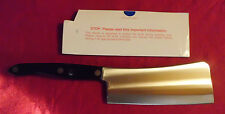 Cutco Classic Black Heavy Duty Meat Cleaver #1737. Brand New No Package!