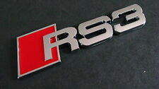 Audi RS3 Badge A3 S3 RS3 S Line Sport
