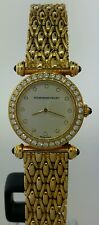 Audemars Piguet Ladies 18k Yellow Gold and Diamonds Watch - Box & Papers