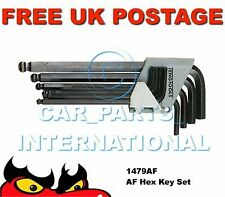 "Teng 1479AF HEX Key Set 9pc 5/64"", 3/32"", 1/8"", 5/32"", 3/16"", 7/32"", ¼"", 5/16"","