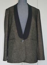 NWT Paul Smith Black Label Women Shawl Collar Suit Size EU/IT 44 Made In Italy