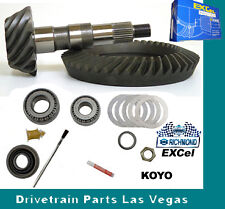 "Richmond Excel GM 8.5"" 10 Bolt 4.10 Ratio Ring and Pinion Gear Set + Install Kit"