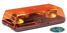 Ecco 5135A Amber Rotating Halogen Light Mini Emergency Warning Bar 12V