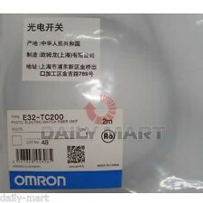 Omron Photoelectric Switch Fiber Unit E32-TC200 E32TC200 New & Free Ship