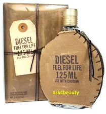 Diesel Fuel For Life 4.2oz Edt Spray For Men New In Box By Diesel