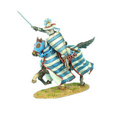 CRU051 Mounted Crusader Lusignan Knight Charging by First Legion