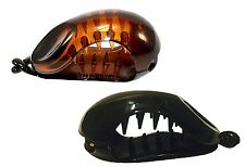 PARCELONA FRANCE SMALL FISH CELLULOSE SHELL & GLOSSY BLACK BANANA HAIR CLIP