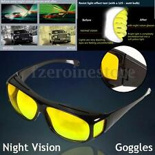 Night Optic Vision Driving Anti Glare HD Glasses UV Protection Eyeglasses
