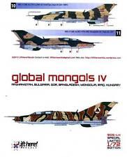 lh905/ Lift Here Decals - MiG-21UM - Global Mongols - Pt. IV - 1/72