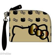 New Hello Kitty Loungefly Wristlet Pouch