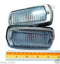 DATSUN FAIRLADY Z 240Z 260Z 280Z 510 B210 120Y FRONT SIDE MARKER LIGHT CLEAR LEN