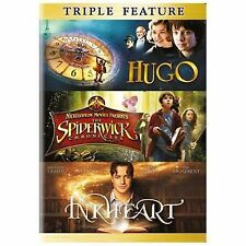 NEW - Hugo/Spiderwick Chronicles/Inkheart (DVD) (Triple Feature)