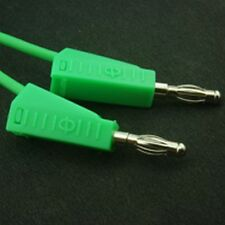 4mm Stackable Banana Test Lead 500mm Green