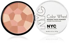 New York Color Wheel Mosaic Face Powder - 725A Rose Glow 0.32 Ounce NYC