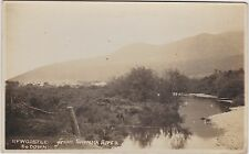 Northern Ireland Real Photo. Newcastle from Shimna River. Co. Down.  c 1910