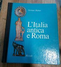 L'Italia antica e Roma German Hafner Rizzoli
