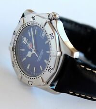 TAG HEUER Men's Luxury Sport Watch, WK1110, Aquaracer model, Blue face