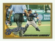 2010 Jonathan Lucroy - (RC) Topps Update Gold - Brewers