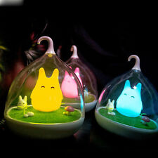 Totoro Portable Touch Sensor USB LED Baby Night Light Bedside Lamp Wall lamp