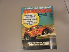 JUNE 1975 VOLKSWAGEN GREATS MAGAZINE,BEETLES,RABBITS,DRAG RACING,WINNING,BUGS