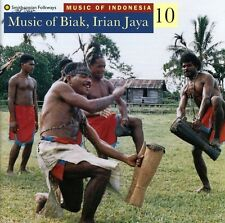 Music Of Biak Iraian Jaya-Wor - Music Of Indonesia 10 (1996, CD NEUF)