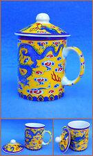 Tasse à thé Tasse De Thé avec couvercle Motif Dragon China Tasse Neuf