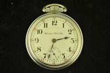 VINTAGE 18S HAMILTON 21J POCKET WATCH GRADE 940 FROM 1903 KEEPS TIME
