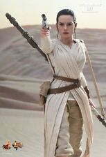 Rey hot Toys 1/6 figurine star wars force réveille daisy ridley * uk livré *