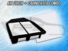 AIR FILTER CABIN FILTER COMBO FOR 2008 2009 2010 2011 HONDA ACCORD - 2.4L ONLY