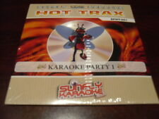 SUNFLY HOT TRAX KARAOKE DISC SFHT01 VOLUME 1 PARTY #1  CD+G SEALED 14 TRACKS