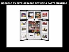 NORCOLD Motor Home Trailer Refrigerator Manuals over 800pgs! for RV Frig Service