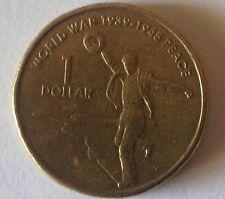 2005 Australian One Dollar Coin World War 1939-1945 Peace Dancing Man Circulated