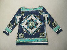 Charter Club size XS (AU8-10) European print top