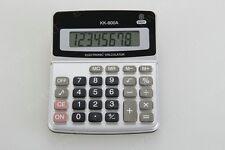 Calcolatrice Elettronica Digitale KK-800A 8 Cifre Scuola Ufficio hsb
