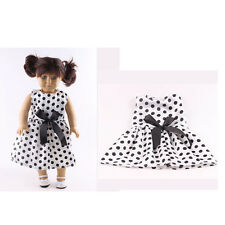 Fashion Christmas gift clothes set for 18inch American girl doll party N10