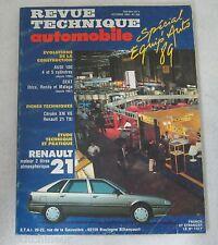 Revue technique automobile RTA 508 1989 Renault 21 moteur 2 L atmo
