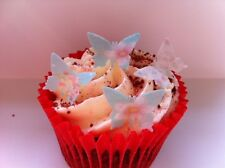 80 Pre-Cut VINTAGE MINI Edible Butterfly Cupcake Toppers