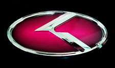 Front(Grille) & Rear(Trunk) 3D Red Emblem Badge for Kia 11 12 13 2014 Optima K5