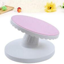 New Decorating Rotating Icing Revolving Cake Tilting Turntable Stand Platform W