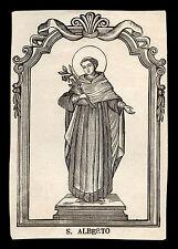 santino stampa popolare 1800 S.ALBERTO DI TRAPANI