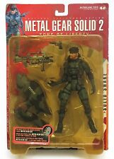 McFarlane Toys - Metal Gear Solid 2 Sons of Liberty - Solid Snake Action Figure