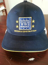 National WWII Memorial Design and Construction We Built It 2001 to 2004 Ball Cap