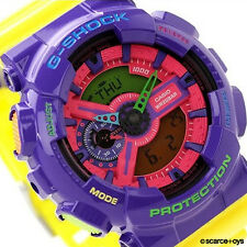 CASIO G-SHOCK Hyper Crazy Colors Watch GA-110HC-6A