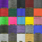 425 3-Strand Paracord Tactical Cord Crafting Survival Outdoors 10' 25' 50' 100'