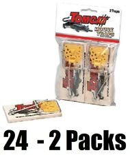 (24) MOTOMCO 33507 TOMCAT 2pk WOODEN OLD FASHIONED SPRING SET MOUSE TRAPS