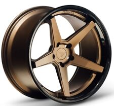 20x9/10.5 Ferrada FR3 5x114 +35/38 Bronze Wheels Fits Mustang V6 V8 Gt Gs400 430